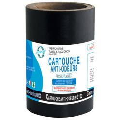 Interplast Cartouche anti-odeurs Ø100 pour fosses septiques, poste de relevage, toutes eaux IN-SCARTFOSS Plomberie