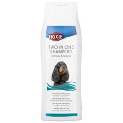 TR-29197-001 Trixie Shampoing 2 en 1, avec après shampoing, 250 ml. pour chien. Champú