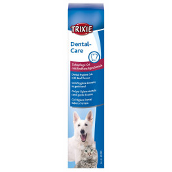 Dental hygiene gel to beef taste 100G Care and hygiene Trixie TR-25446