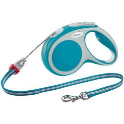 Flexi max 20 kg cordon 5 m. Laisse Flexi vario turquoise pour chien FL-1032268 laisse chien