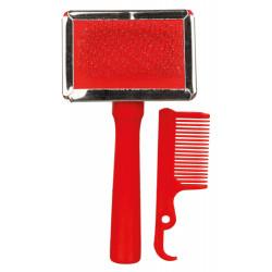 TR-2353 Trixie Pincel suave color aleatorio Cuidados e higiene